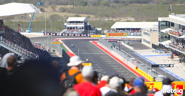 USGP Turn 20 view from Turn 1 start finish United States Grand Prix