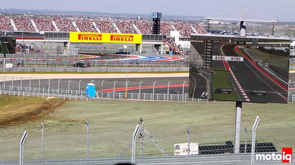 USGP us grand prix u.s. turn 1 view