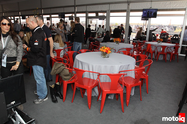 USGP United States Grand Prix Turn 16 17 18 hospitality suite tent