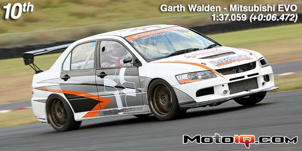 Garth Walden Tilton Interiors  Mitsubishi EVO