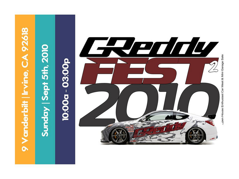 GReddy Fest Open House