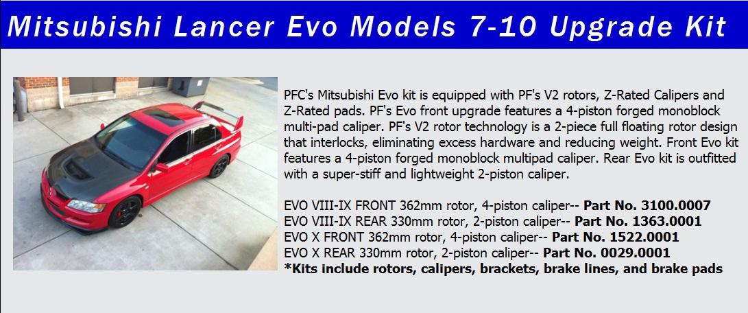 PFC Evo Release