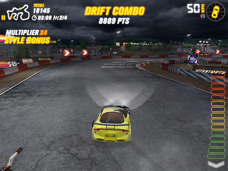 Whiteline, Game App, Drift Mania Championship 2
