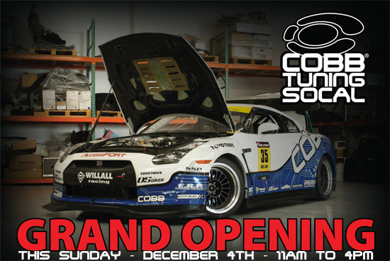 COBB Tuning SOCAL Official Grand Opening