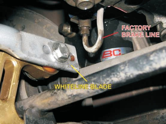 Whiteline Subaru Swaybar sway bar safety recall