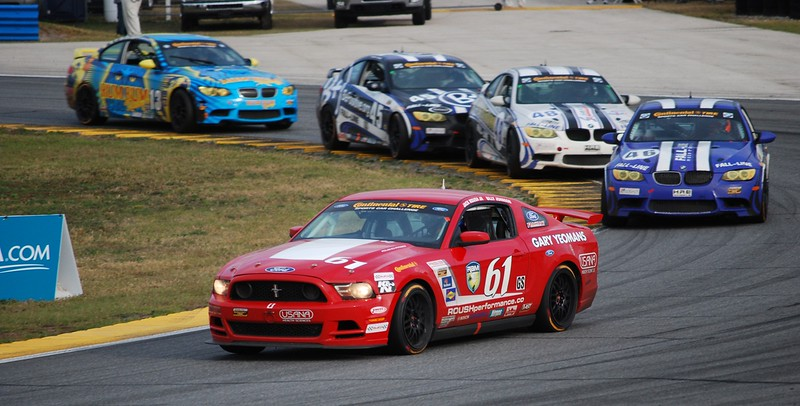 PFC wins Daytona, Jack Roush Jr, Billy Johnson, Boss Mustang