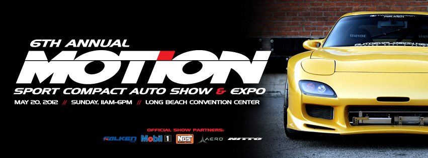 6th annual motion show, sport compact auto show