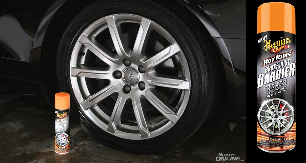 meguiars hot wheels brake dust barrier