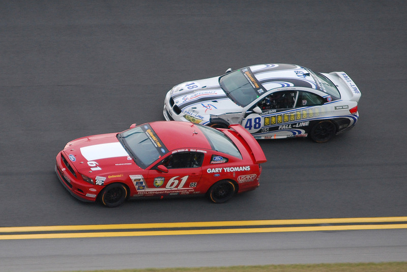 PFC wins Daytona, Jack Roush Jr, Billy Johnson, Boss Mustang