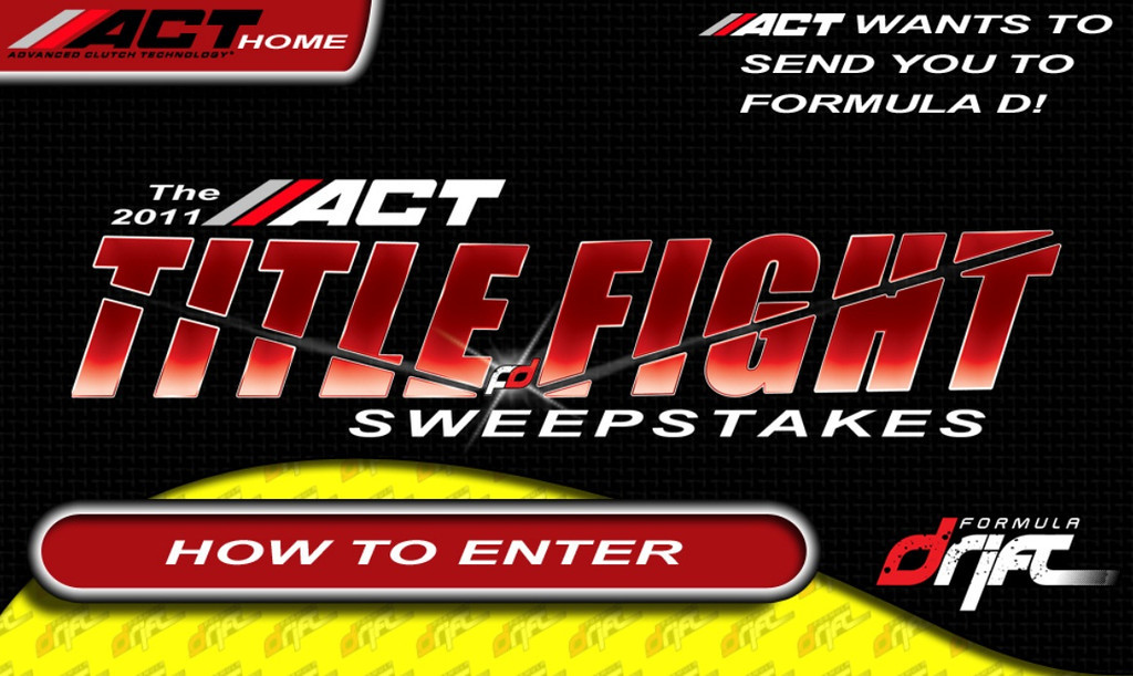 ACT Title Fight Sweepstakes