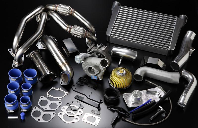 GReddy, FR-S/BRZ T518Z Tuner Turbo Kit, parts