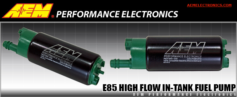 AEM E85 In-Tank Fuel Pump EFI