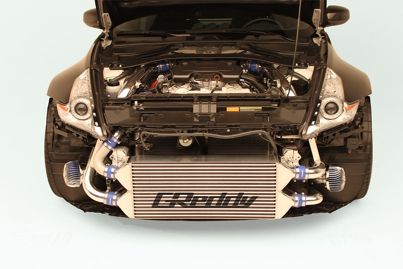 Greddy 370Z Twin Turbo Kit!