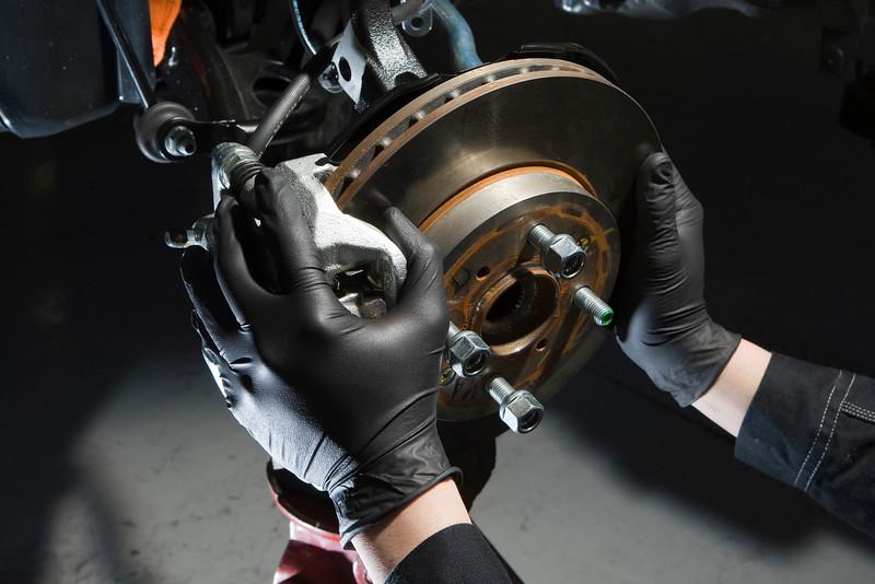 5zigen black lightening mechanics gloves