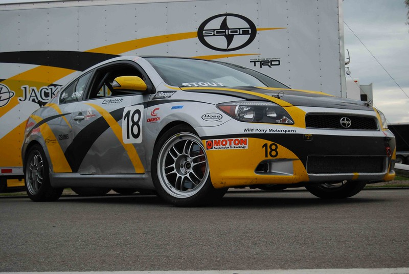 Dan Gardner DG Spec World Challange racing Scion TC