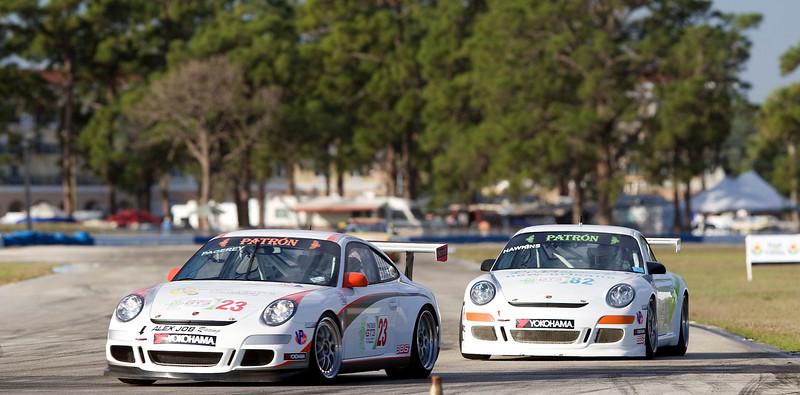 IMSA ALMS GT3 cars