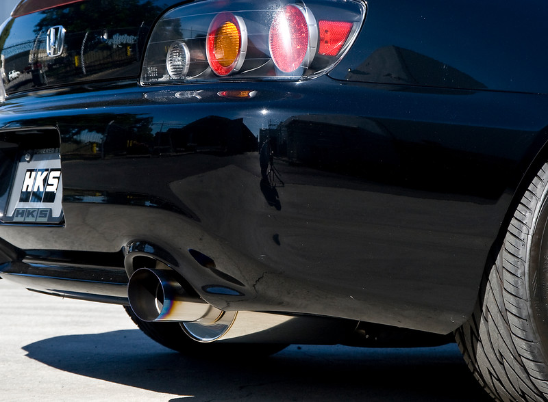 HKS Hi-power racing exhaust for the honda S2000