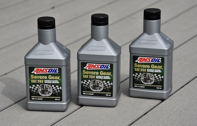 Amsoil Severe gear SAE 250 Super heavy duty racing gear oil