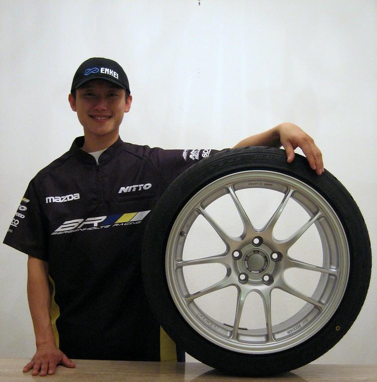 Bergenholtz Racing Joon Maeng Enkei