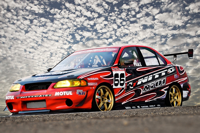 The Dog III  Nitto Tire B15 Sentra time attack car