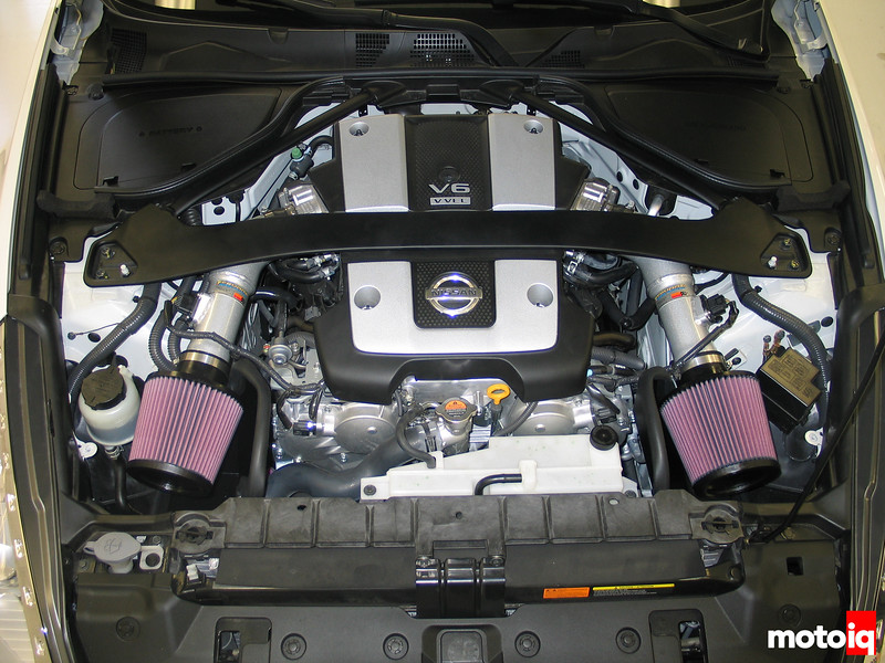 K&N Nissan 370Z Air Intake