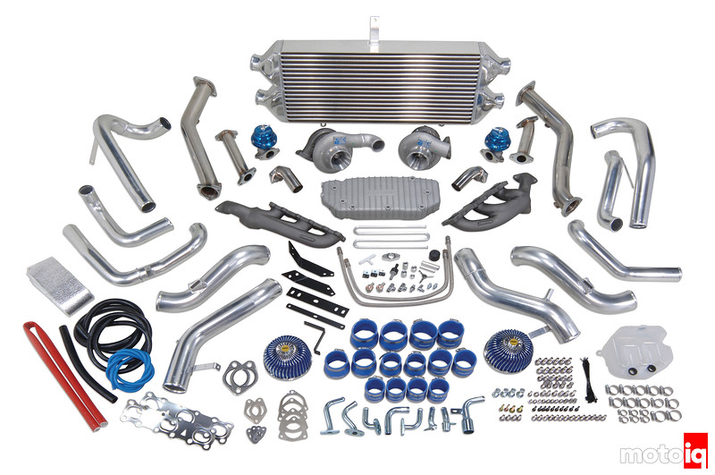 Greddy Nissan 370Z Turbo kit