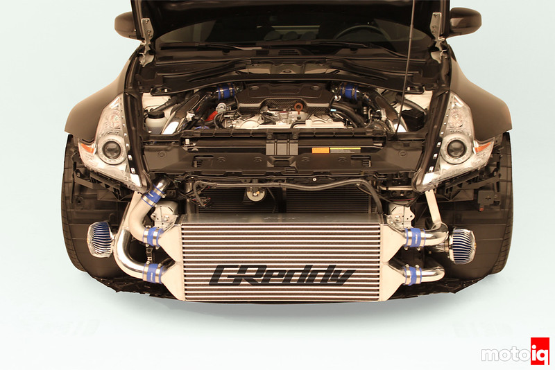 Greddy 370Z turbo kit