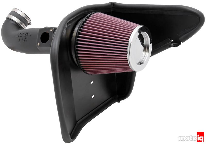 K&N Camaro V6 Air Intake
