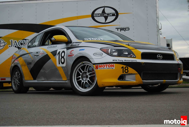 DG Spec Scion TC race car #18