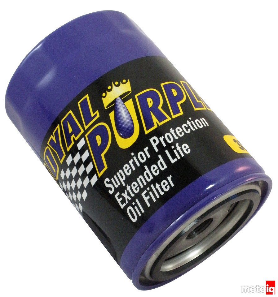 New Royal Purple micro-glass oil filter