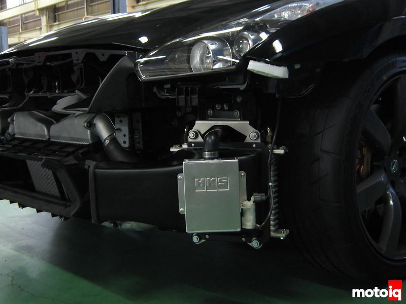 HKS GTR R35 tranny cooler