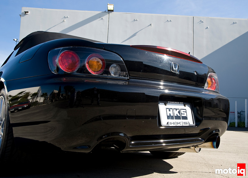 HKS Honda S2000 Hi-Power racing version exhaust
