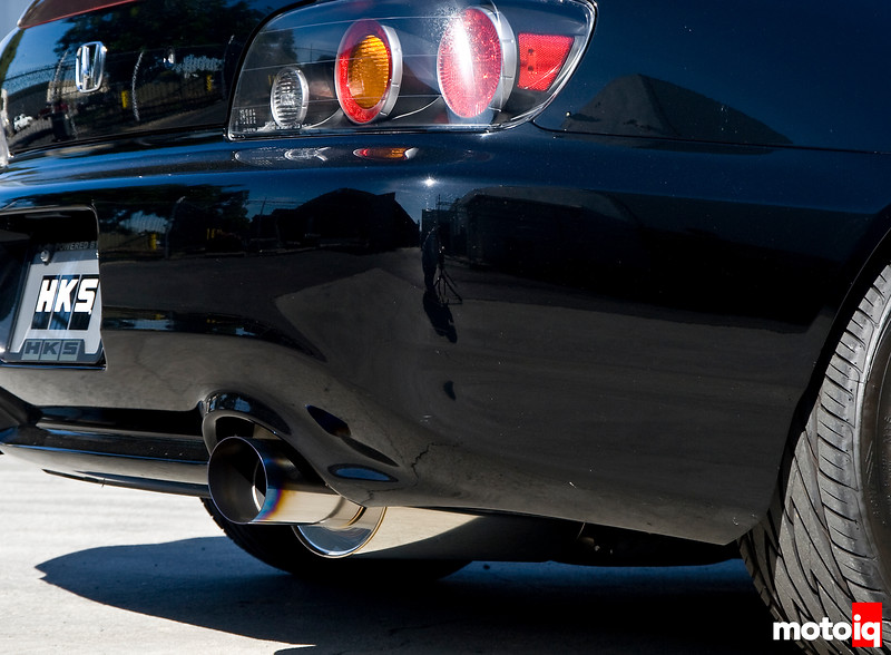 HKS S2000 High power racing version exhaust