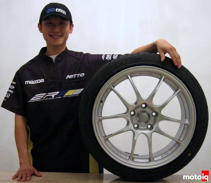 Joon Maeng Bergenholtz Racing Enkei