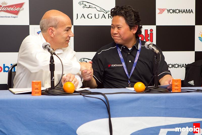 Yokohama tire signs 2-year sponsership deal with IMSA