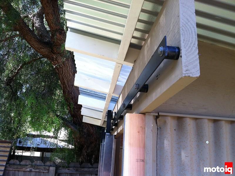 shed rail