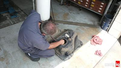 Frankenmiata Vortech fuel pressure regulator