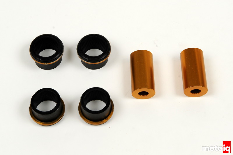 Control arm - lower inner rear bushing - Front