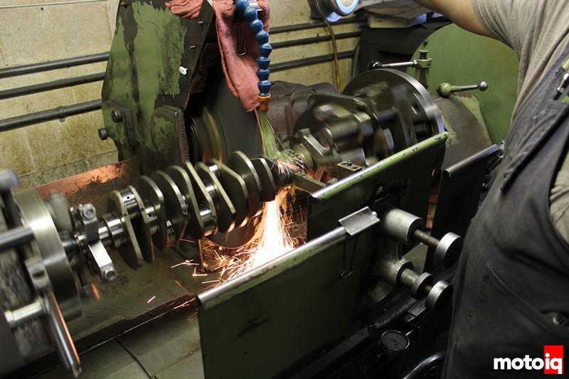offset grinding crankshaft, castillo's