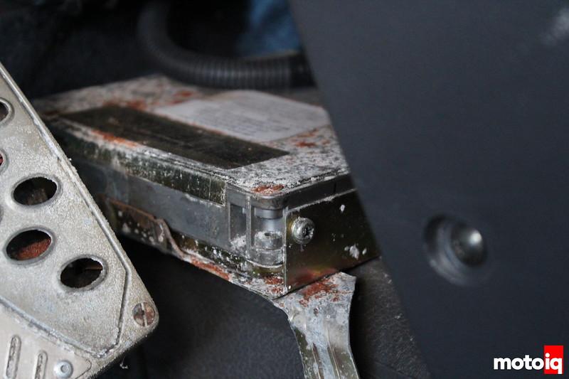 b12 sentra ECU corroded by Bonneville Salt