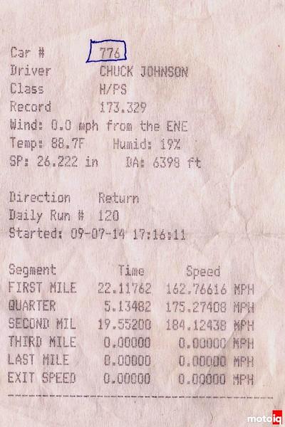 Bonneville Salt Flats World of Speed MotoIQ Project 240sx time slip