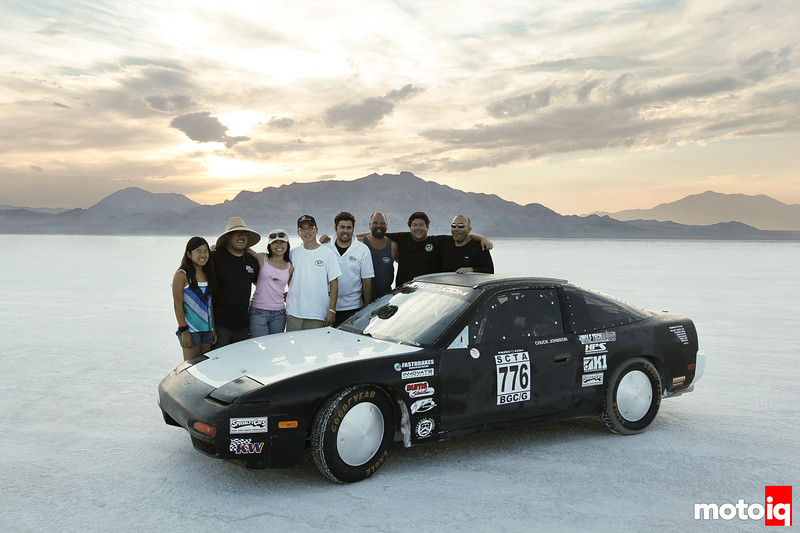 bonneville speed week project 240sx lsr chuck johnson land speed racer team motoiq