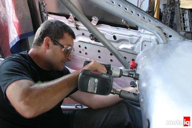 Specialty cars english wheel aluminum dash 240sx john kuchta