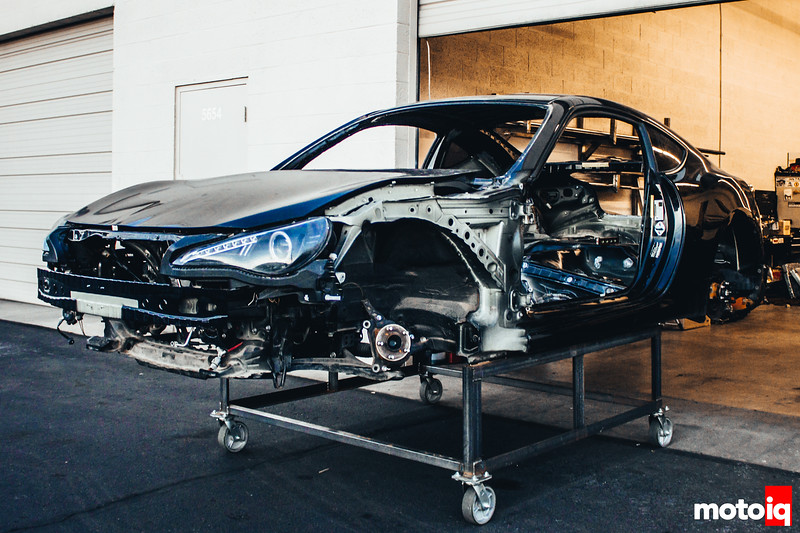 In order to build the best car you can, you first have to strip it down to nothing.