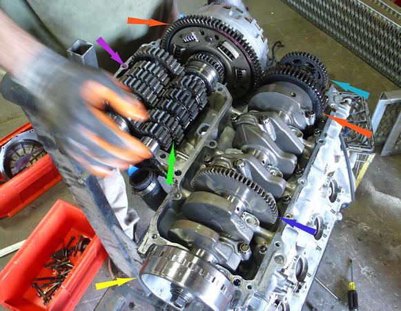 Hayabusa gearbox