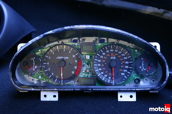 Project Miatabusa hayabusa miata 11,000 rpm new instrument cluster