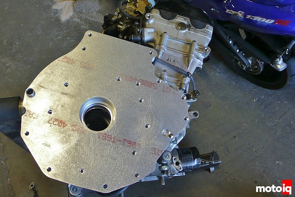 MIatabusa adaptor bellhousing side