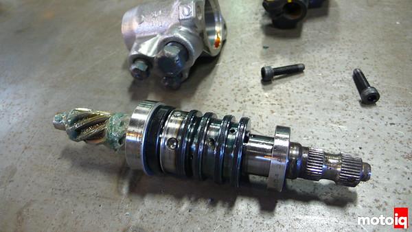Depower miata steering rack weld the quill miatabusa