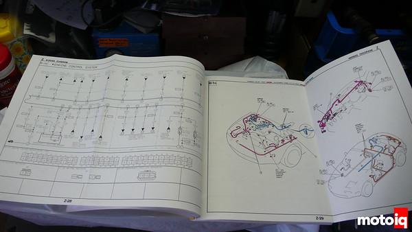 Project Miatabusa hayabusa Miata wiring