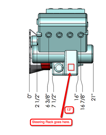 MIatabusa STEERING rack interference